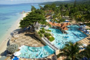 Jewel Dunns River Aerial Pool-Volleyball