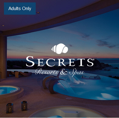 Adults-only Secrets Resorts
